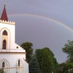 ... tęcza znakiem przymierza i solidarności - także pomiędzy parafiami ...