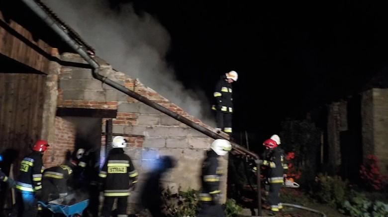 Strażacy szybko opanowali sytuację